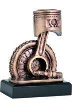 Statuetka ( figurka ) odlewana Motoryzacja RTY3840/BR