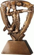 Statuetka ( figurka ) odlewana siatkówka RE401