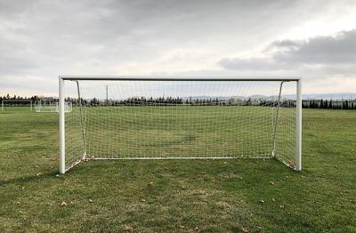 Bramka aluminiowa przenośna do piłki nożnej 5x2m