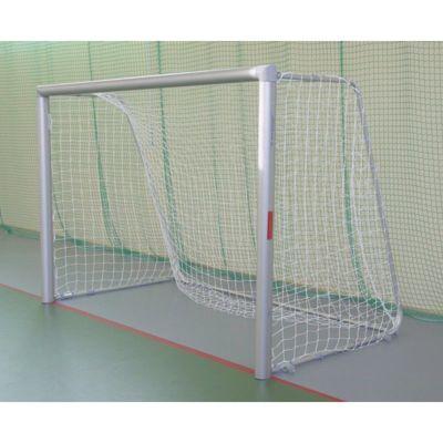 Bramka aluminiowa stacjonarna do piłki nożnej;do tulei, 3x2m