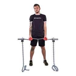 Łańcuchy treningowe na gryf 2x25 kg inSPORTline Chainbos
