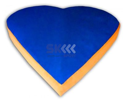 Materac serce 117 150 x 150 x 15 cm