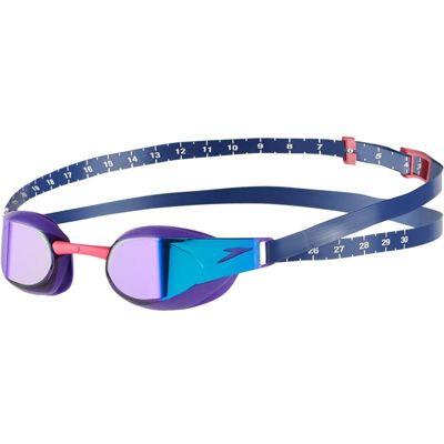 Okularki do pływania Speedo Fastskin3 Elite Mirror Violet/Blue