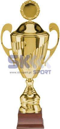 Puchar metalowy z przykrywką 3081