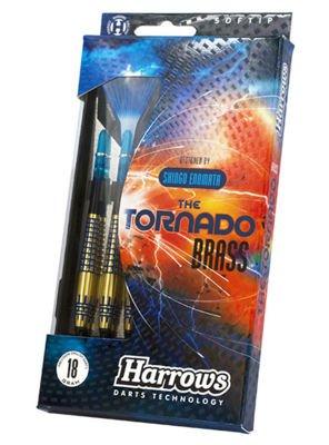 Rzutki Harrows The Tornado Brass Softip gR + GRATIS