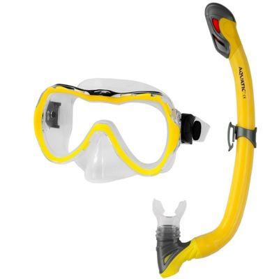 Zestaw do nurkowania AQUA-SPEED maska Enzo + rurka Samos